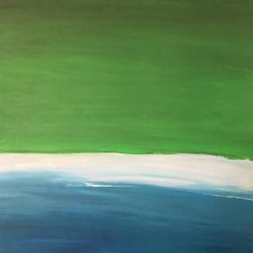 LAND + SEA, 16x20
